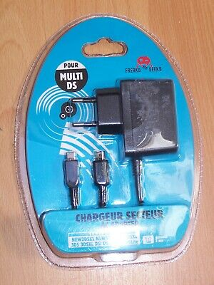 Chargeur Pour Nintendo Ds 2Ds 3Ds Tout Modeles - Neuf - Marque Freaks And Geeks