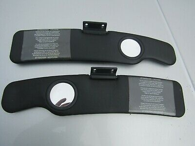 Mgf Mg Tf Pair Of Aftermarket Sun Visors In Black