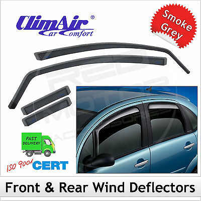 CLIMAIR Car Wind Deflectors for NISSAN LEAF 2010 onwards SET (4) NEW