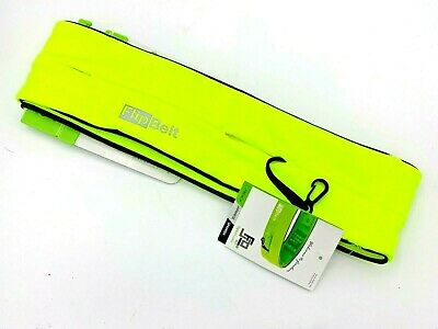 FlipBelt Running Exercise Belt - Nuclear Yellow