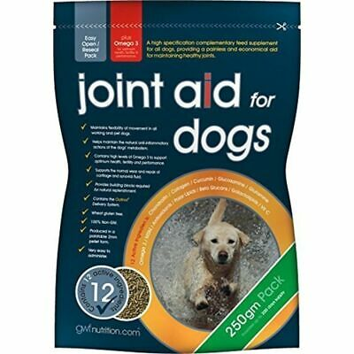 Gwf Joint Aid For Dogs 250g - Glucosamine omega 3 vitamins hip