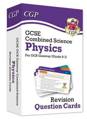 New 9-1 GCSE Combined Science: Physics OCR Gateway Revision Question Cards by...
