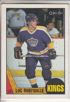 87/88 Opc O-Pee-Chee Lux Robitaille Rc Rookie #42