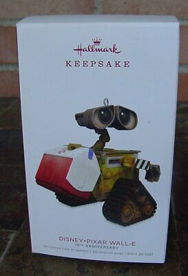 Hallmark Ornament 2018 Disney Pixar Wall-E 10th Anniversary NIB