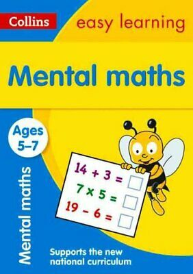 Mental Maths Ages 5-7: New Edition by Collins Easy Learning 9780008134334