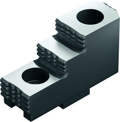 HARD TONGUE & GROOVE stepped TOP JAWS (3 PC SET) SHF-160-S SCHUNK