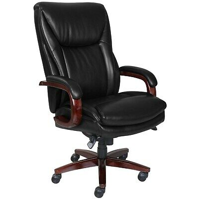 La-Z-Boy Big and Tall Edmonton Executive Office Chair with Black