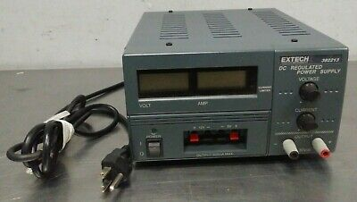 EXTECH 382213 DC Regulated Power Supply MAX Output 500mA w/ Digital Display