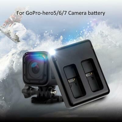 New FB-DC-AHDBT 501 Sports Camera Battery Dual Slot Charger for GoPro Hero 5/6/7