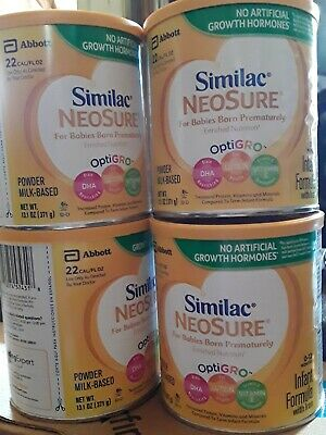 Similac NeoSure powder formula with iron