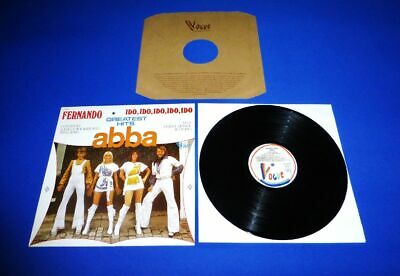 Abba - Greatest Hits  Lp -> Ultra Rare France Import From 1975 Dream Condition +