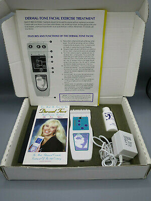 Dermal-Tone Facial Skin Exercise Treatment System Exerciser Complete in Box