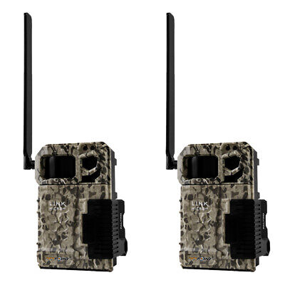 SPYPOINT LINK MICRO Verizon 4G Cellular Hunting Trail Game Cameras (2 Pack)