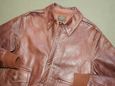 "US Army AAF WW2 ""CATCH-22"" SERIES PROP EASTMAN A-2 HORSEHIDE FLIGHT JACKET #26"
