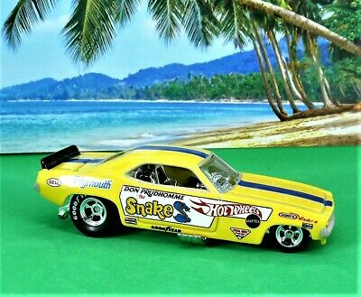 Hot Wheels Car Culture Don Prudhomme The Snake Plymouth Cuda Funny Car 1/64