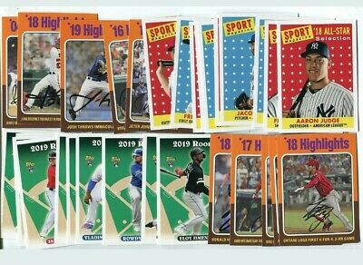 2019 Topps Archives COMPLETE SP HIGH NUMBER SET 301-330 Vlad Guerrero Jr. Alonso