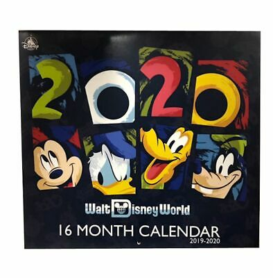 Disney Parks 2020 Walt Disney World 16 Month Wall Calendar New Sealed