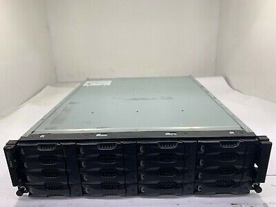 Dell EqualLogic PS6010VX 10GbE iSCSI SAN Storage w/ 16x Dell 2TB 7.2K SATA HDD
