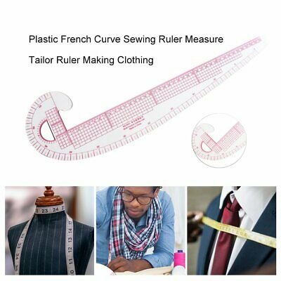 Plastic French Curve Sewing Ruler Measure Tailor Ruler Making Clothing BT