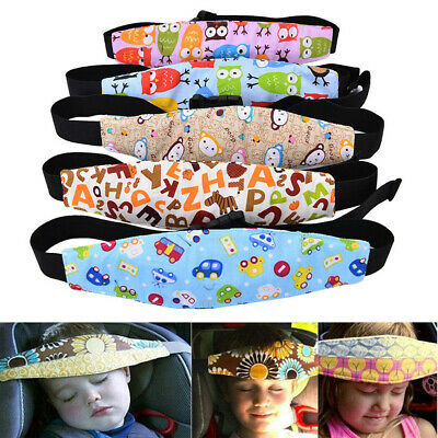 Baby Headrest Sleeping Car Seat Support Strap Kids Head Rest Support Pad Pillow