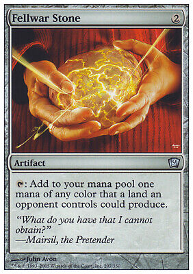 Mtg Fellwar Stone Exc - Pietra Fellwar - 9Th - Magic