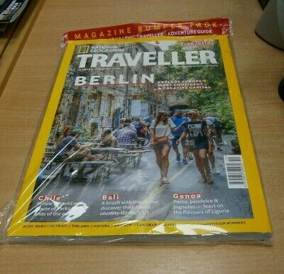 National Geographic Traveller magazine OCT 2019 Berlin Chile + Adventure Guide