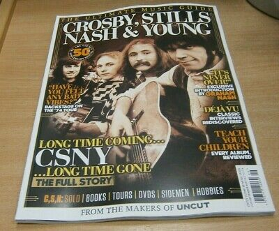 Uncut magazine Ultimate Music Guide Series SEP 2019 Crosby Stills Nash & Young