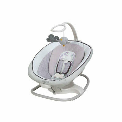 Graco Baby Infant Sense2Soothe Bouncer Swing w/ Cry Detection Technology, Birdie