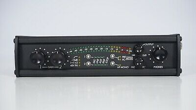 Sound Devices USBPre 2 / 2 Chan High Res USB Audio Interface Computer Microphone