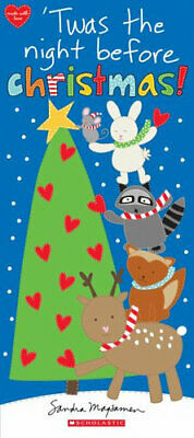 NEW Twas the Night Before Christmas! By Sandra Magsamen Board Book Free Shipping