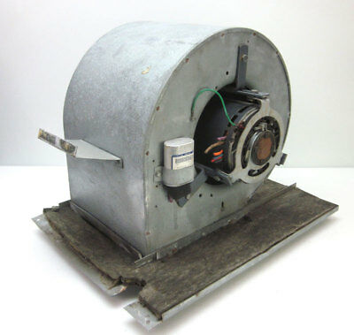 Emerson 1/2Hp Squirrel Cage Centrifugal Fan Blower Direct-Drive 1-Ph 460V 3-Spd