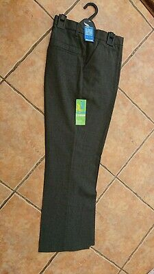 Nwd, Age 15-16 Years Marks & Spencer Grey School Trousers. Free P&P.