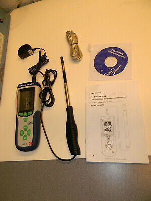 Digi-Sense Hot-Wire 20250-16 Thermoanemometer with NIST-Traceable Calibration