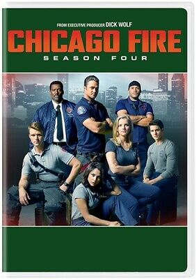 CHICAGO FIRE TV SERIES COMPLETE SEASON FOUR 4 New Sealed DVD