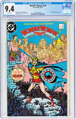 Wonder Woman (1987 series) #10 (DC, 1987) CGC NM 9.4, George Perez Cover