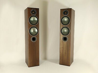 Monitor Audio Bronze 5 Standlautsprecherpaar Rosewood