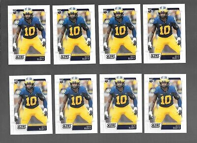2019 Score Nfl Football Rookie Card Rc Devin Bush Lot Of 10,Pittsburgh Steelers