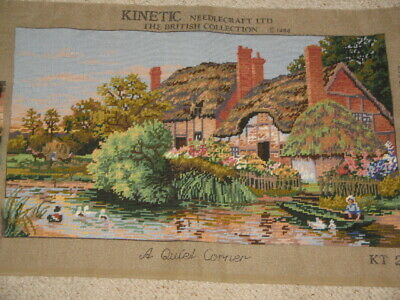 Tapestry The British Collection A Quiet Corner Cottage By Pond Ready Framing