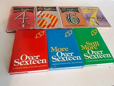 Set Of Rare Jokes Seven Volumes With Dust Jackets