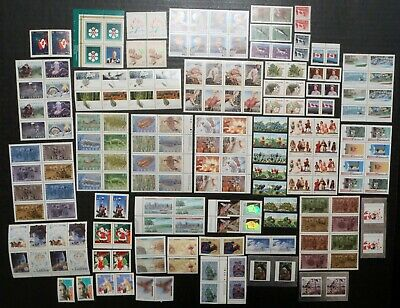 CANADA Large Lot of MINT NH Stamp Pairs Sets & Blocks / Postage