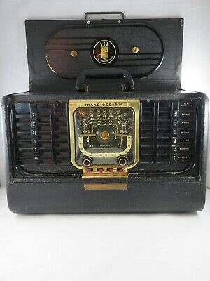 Vintage Zenith Trans-oceanic Radio G550 Chassis 5G40