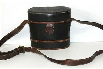 Timberland Satchel Vintage Shape Twin Black Leather Shoulder Strap Be