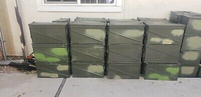 U.S. Military Surplus PA120 40mm Ammo Can Swing Out Carry Handle Sturdy Used