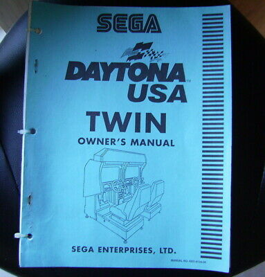 Daytona Usa Twin, Owners Manual , Original ....