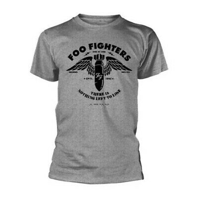 Foo Fighters - Plantilla Gris Nuevo Camiseta