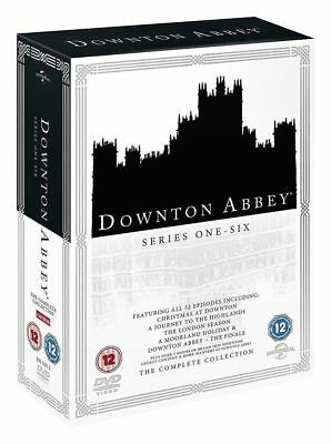 Downton Abbey Series 1 to 6 Complete Collection DVD NEW dvd (8309682)