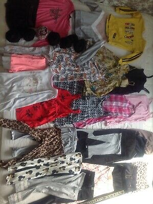 Bundle Of Girls Clothes, Age 5-6. Next, river island And H&m