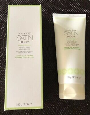 Mary Kay Satin Body, Revitalizing Shea Scrub, Weißer Tee+Zitrus, 08/2020, NEU!