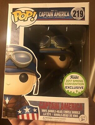Funko Pop Marvel Captain America The First Avenger ECCC/ Spring Convention 2017