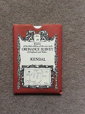 Reprint of 1st edition one inch Ordnance Survey Map, Sheet 11, Kendal